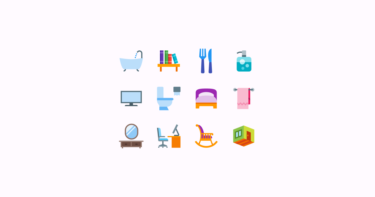 house icons clipart