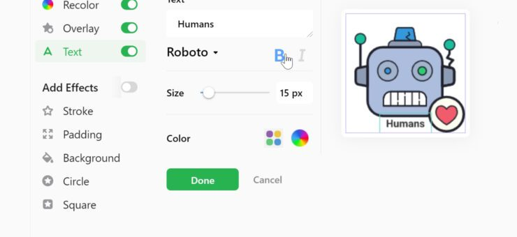 How to Customize Icon in Icons8 App: Video Tutorial