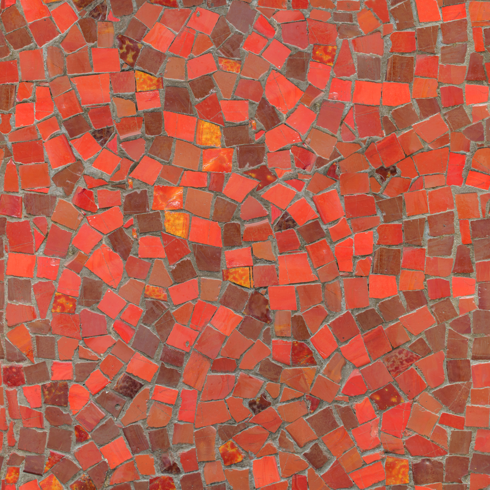red-mosaic-texture