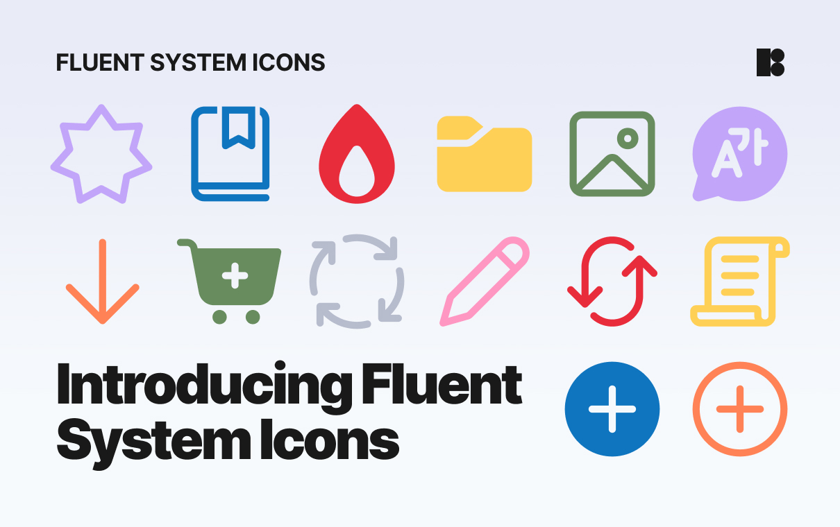 fluent system icons release