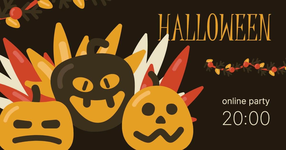 Facebook Post halloween banner design