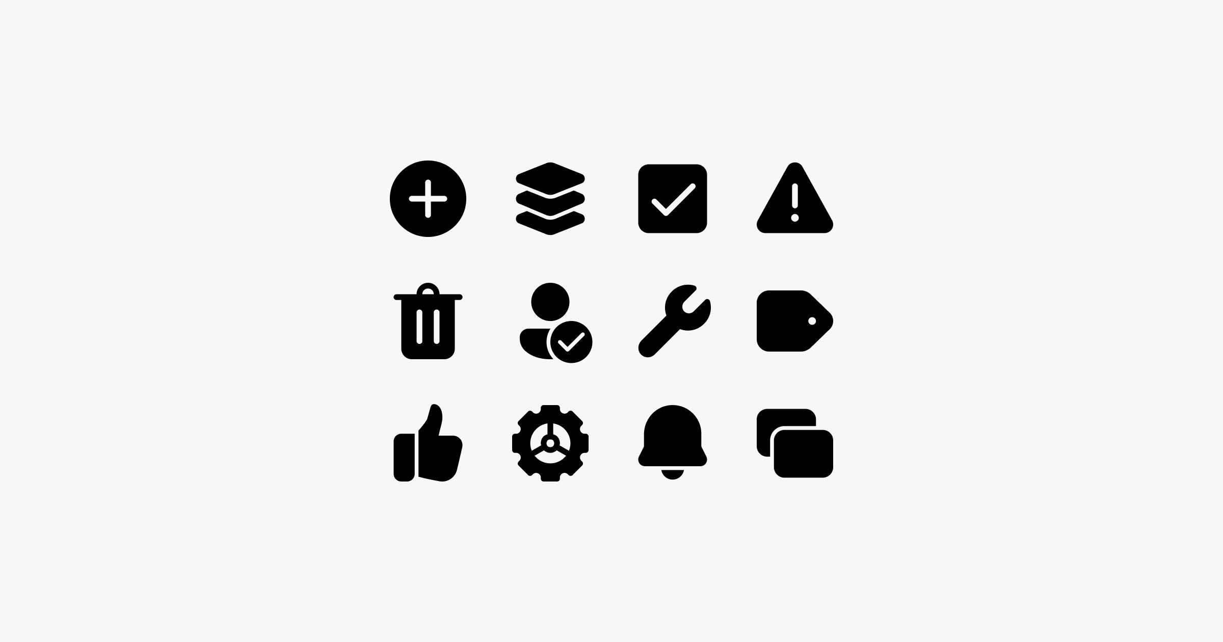 fluent system icons ui