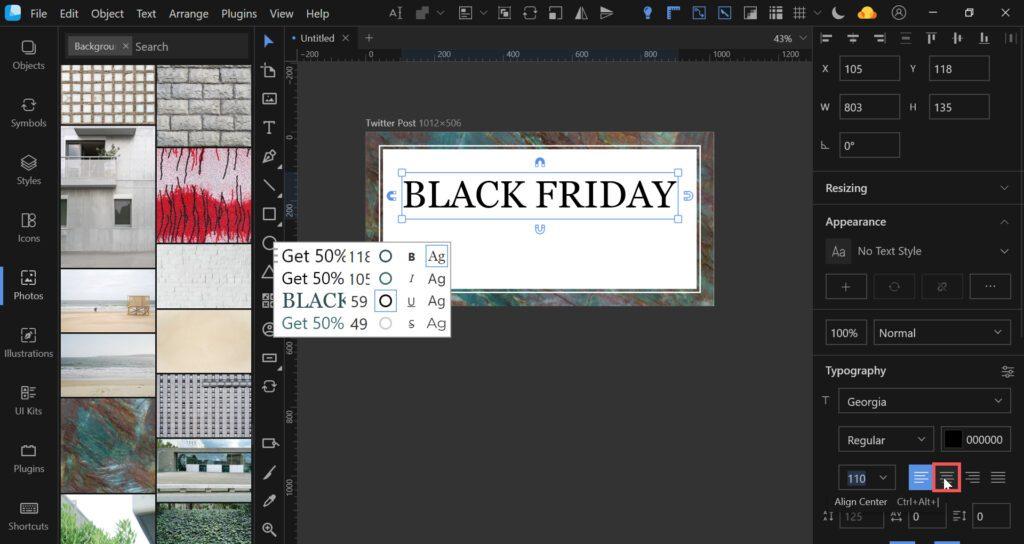 lunacy tutorial twitter black friday