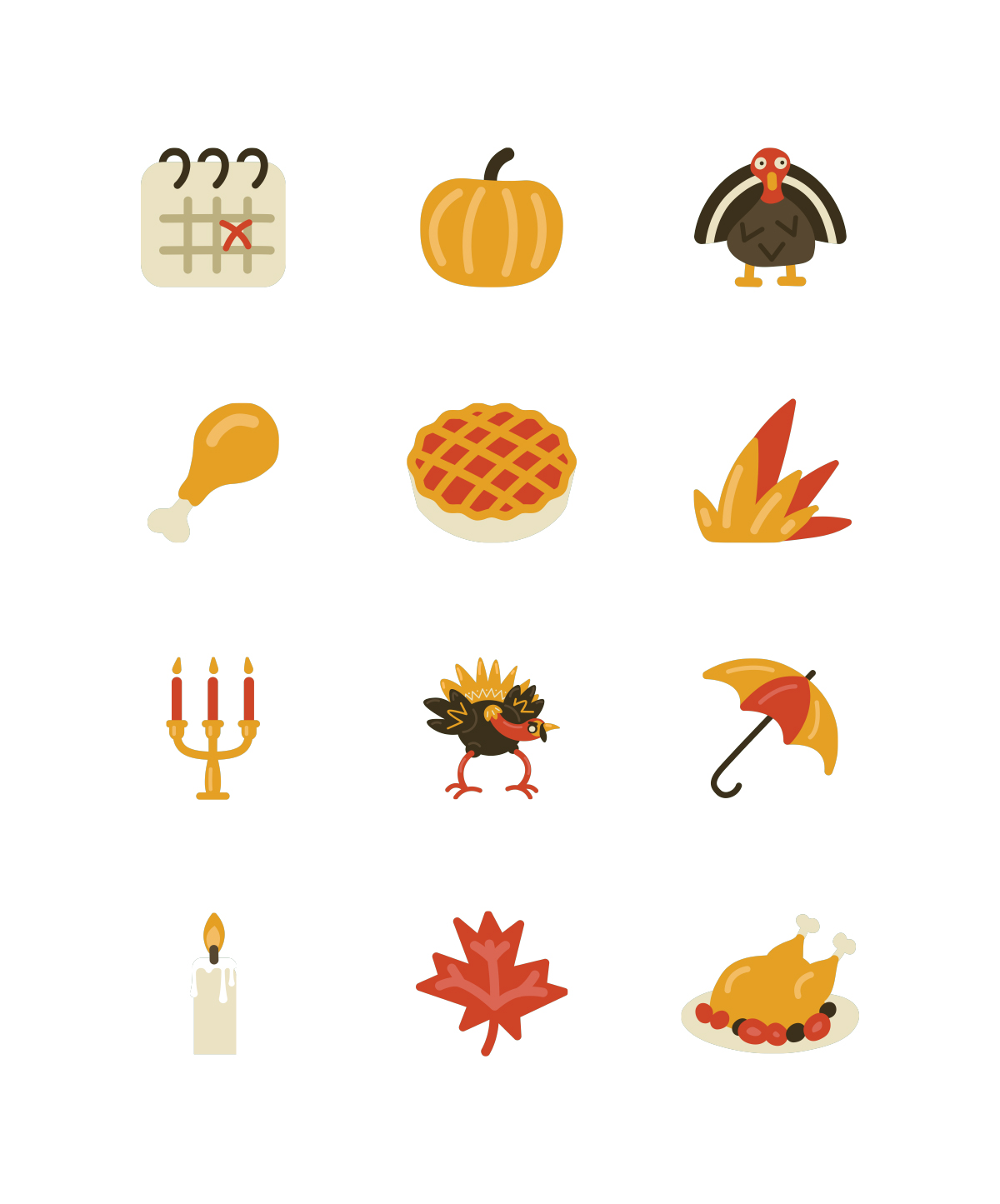 thanksgiving clipart illustrations