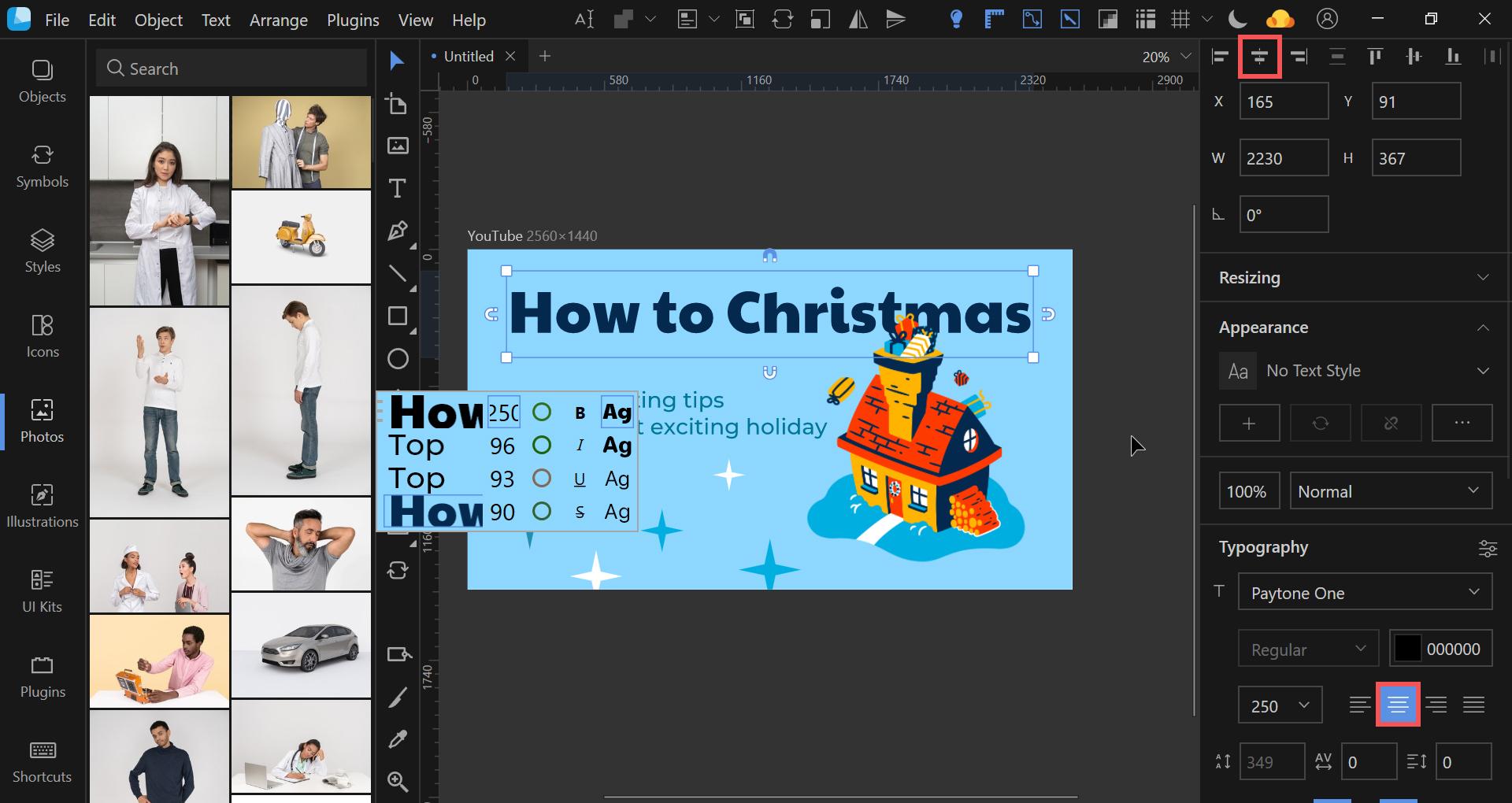lunacy tutorial christmas thumbnail