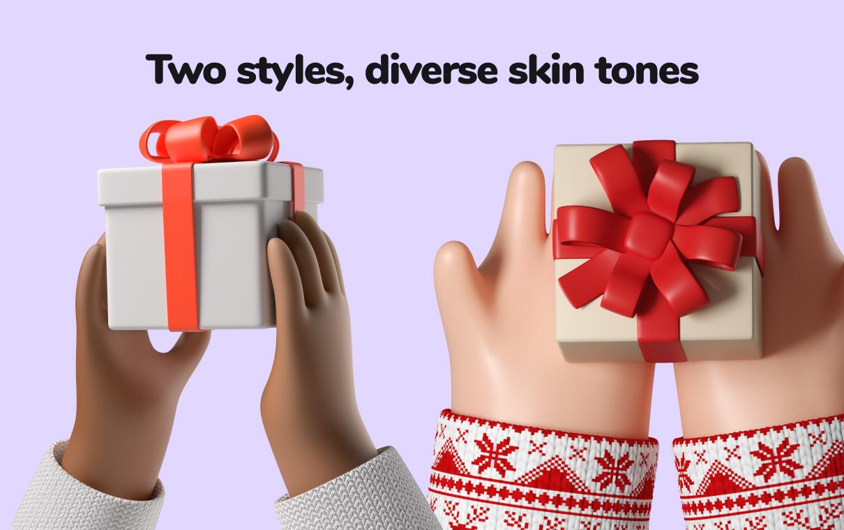 3d christmas decorations