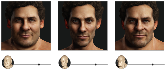 generated photos 3d characters