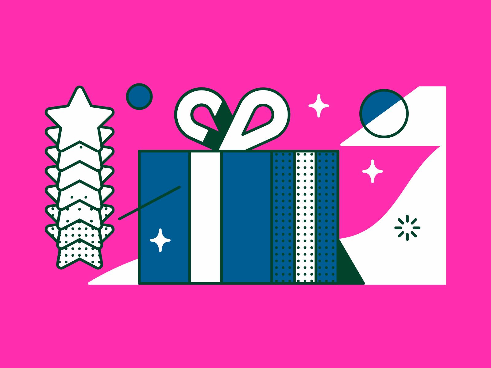 icons8 christmas illustration abstract