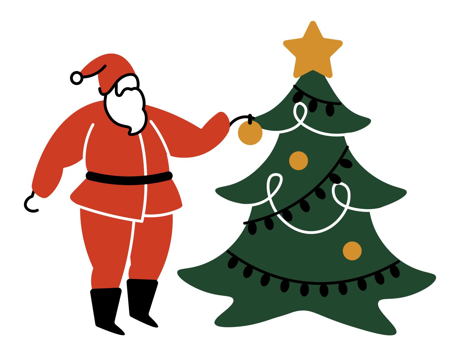 icons8 christmas illustration art