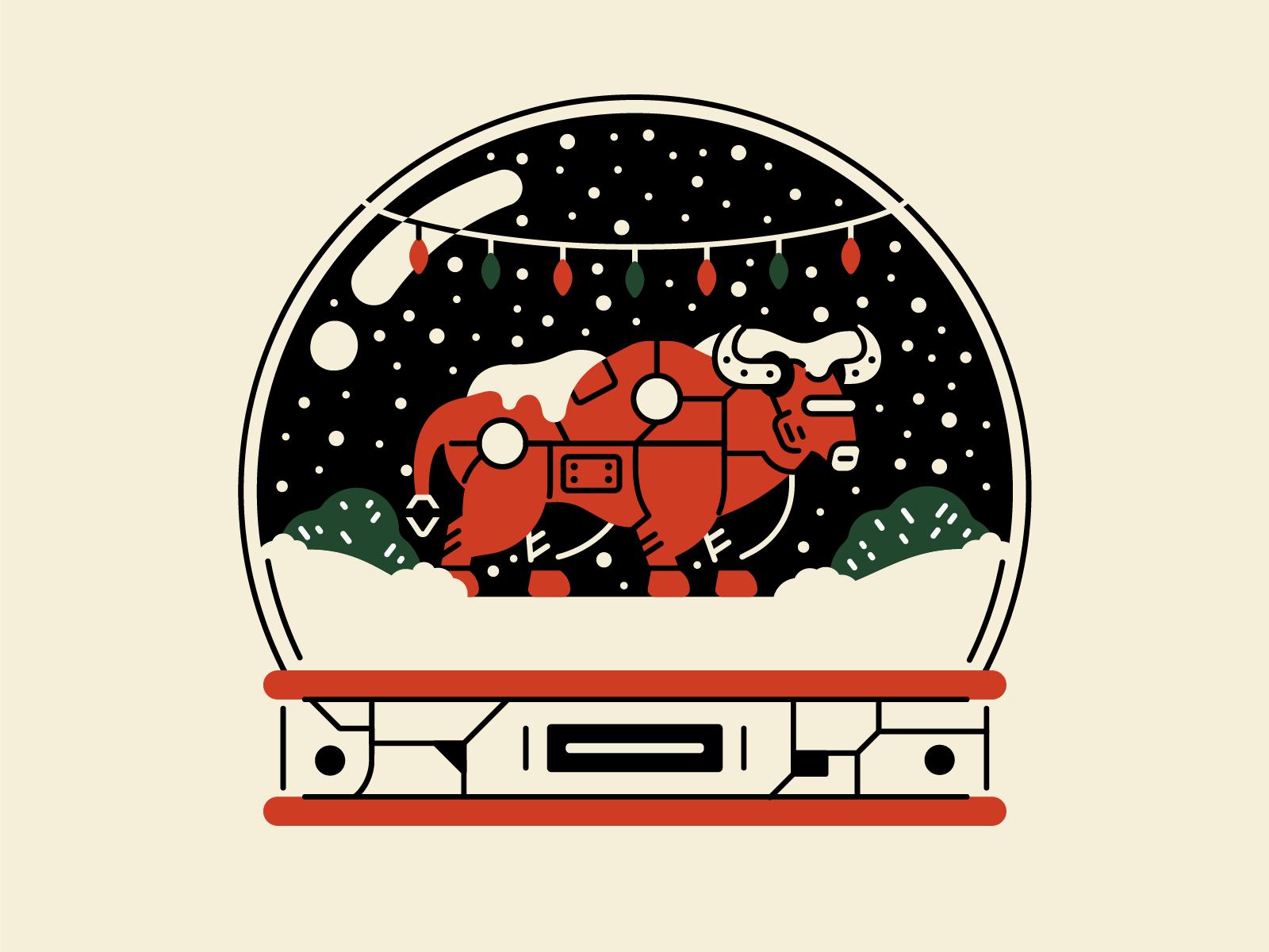 icons8 christmas illustration