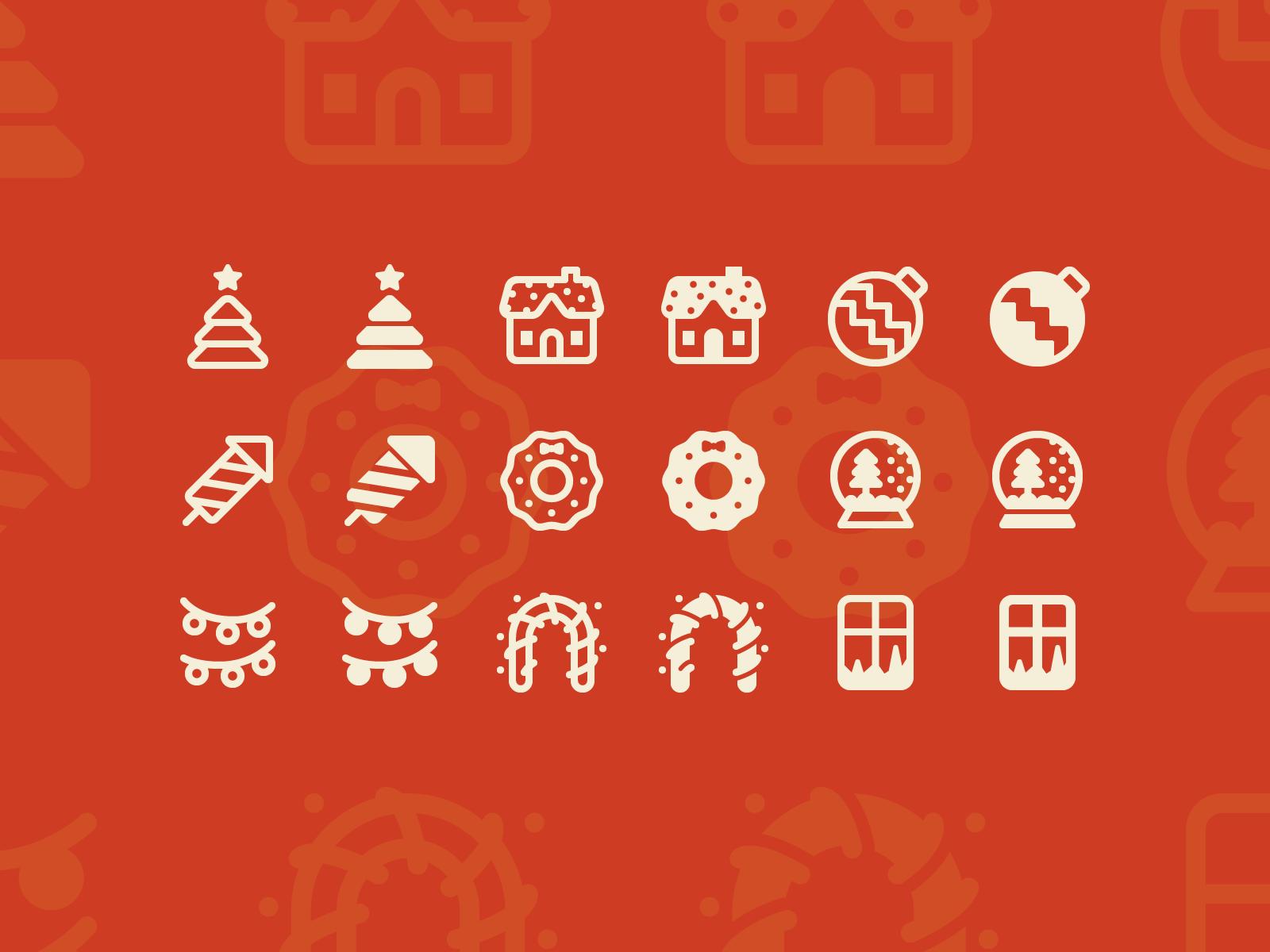 icons8 christmas illustration icons fluent system
