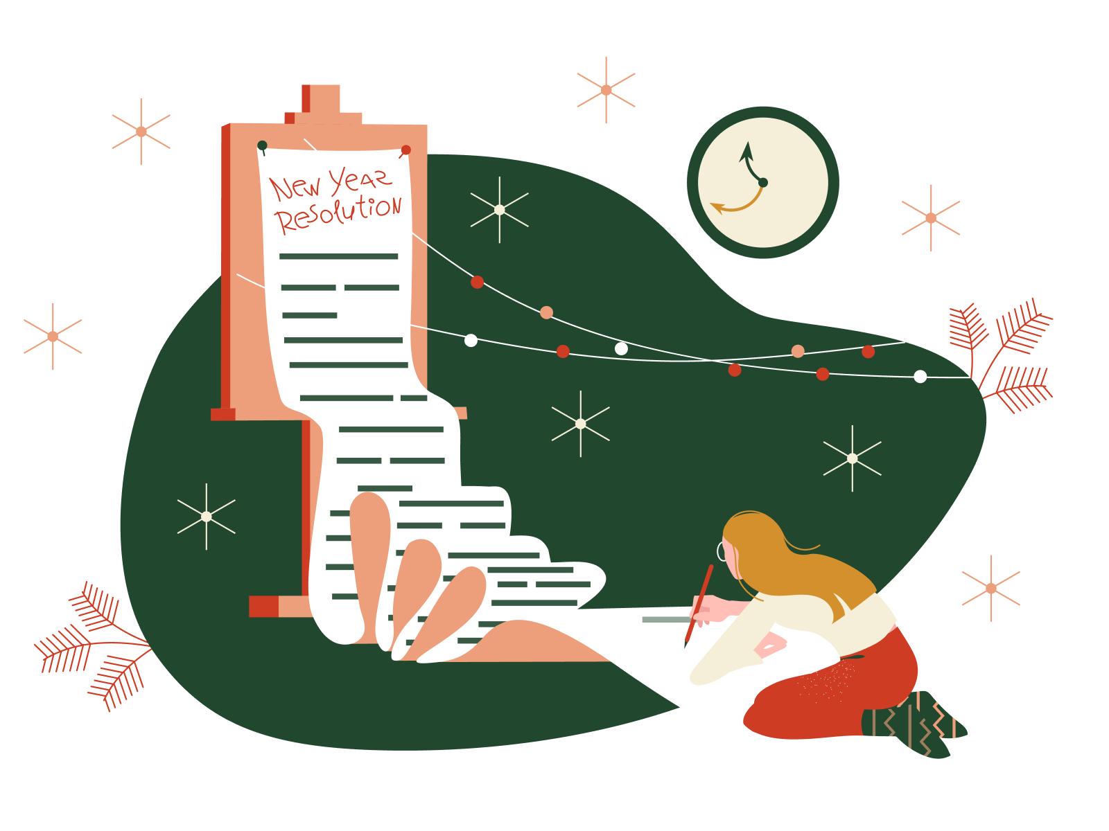 icons8 christmas illustration new year