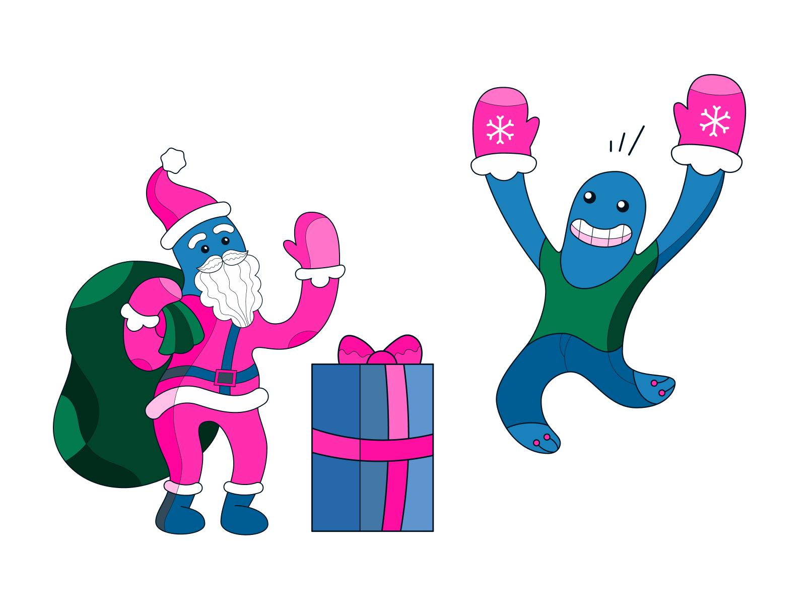 icons8 christmas illustration surr art
