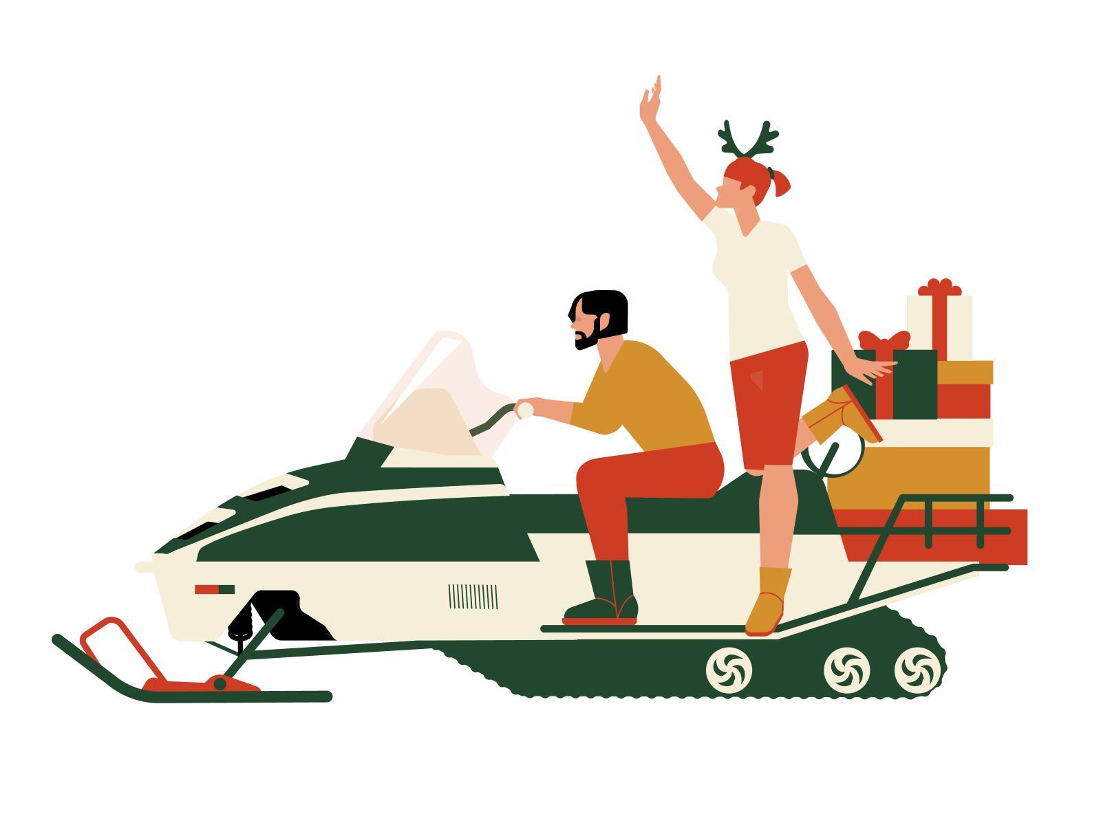 icons8 christmas illustration travel