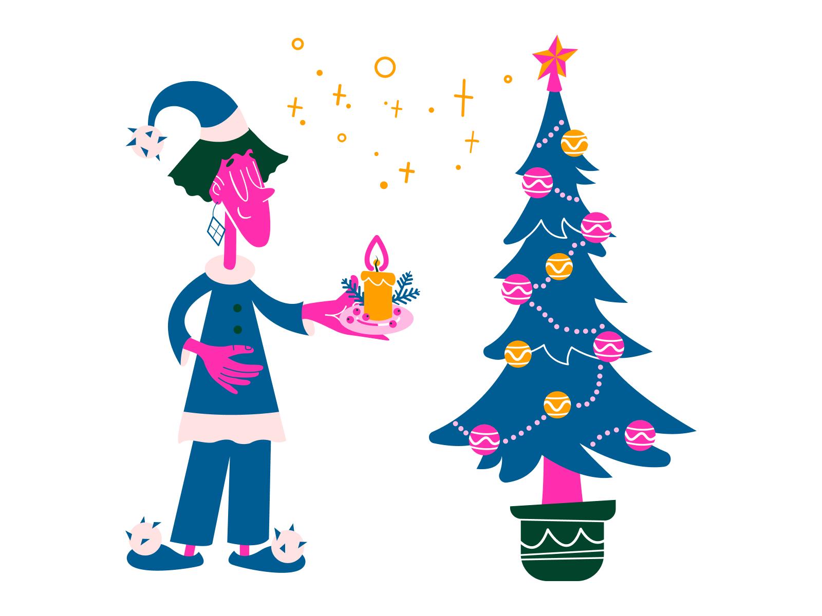 icons8 christmas illustration tree kingdom