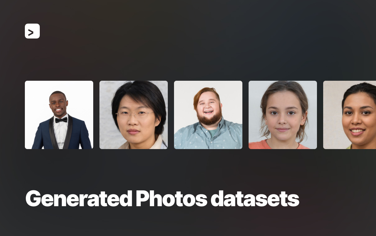 generated photos datasets