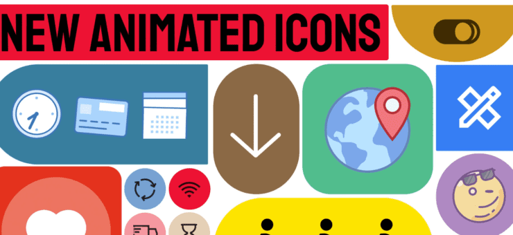 Animated Icons 3.0