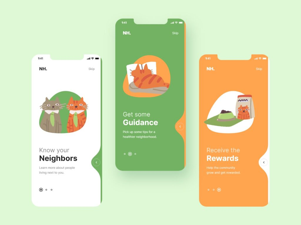 Design inspiration: awesome UI designs with Icons8 graphic elements | picture