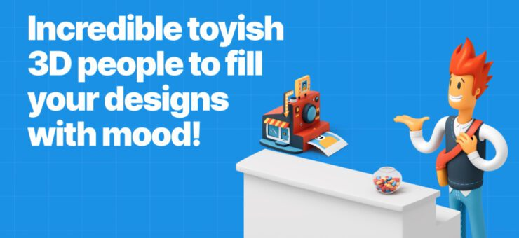 3D Flame: 150+ eye-catching 3D illustrations for kick-ass designs