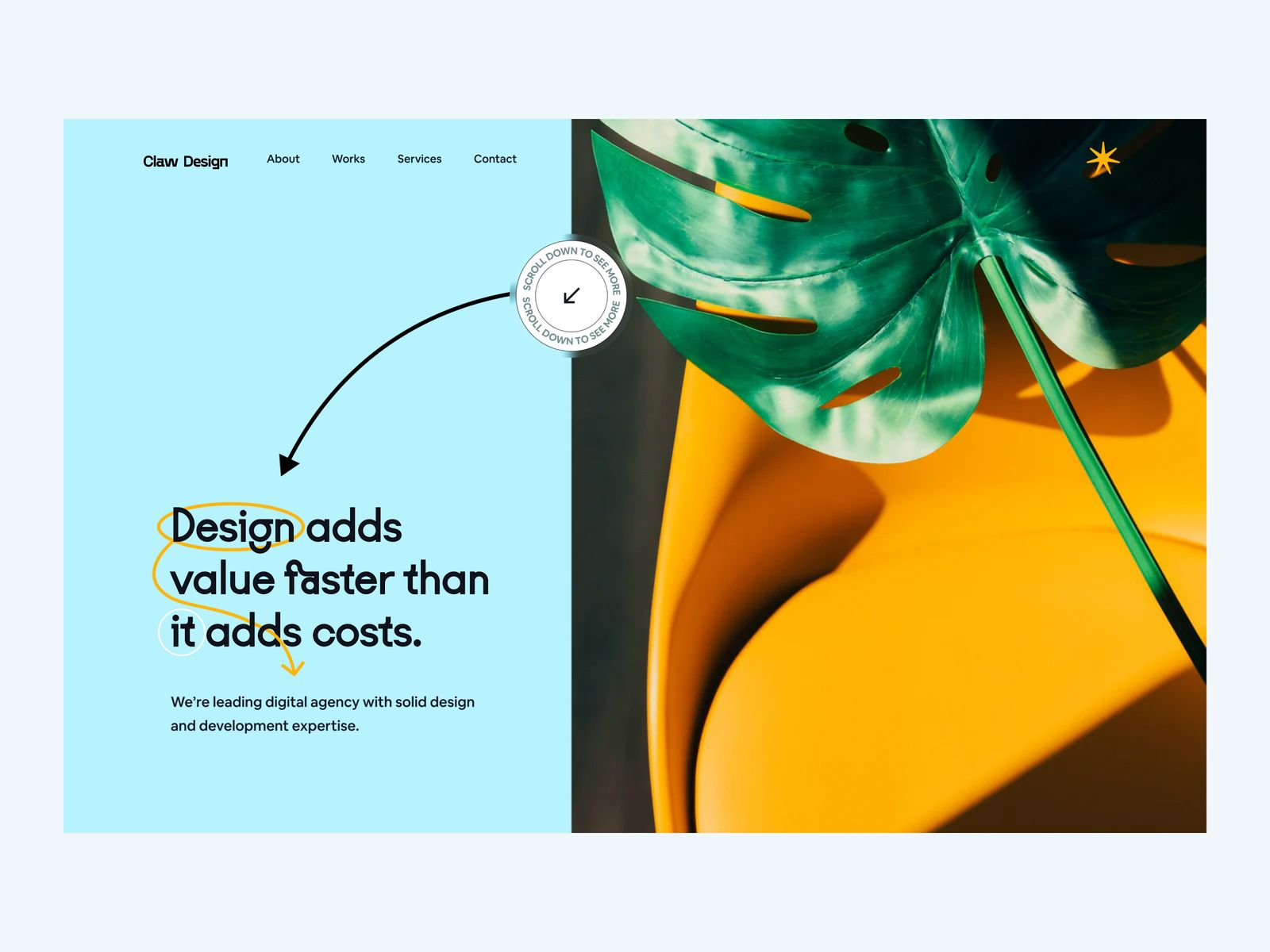 Why photography and videography matter for your website: landing page by Wahab
